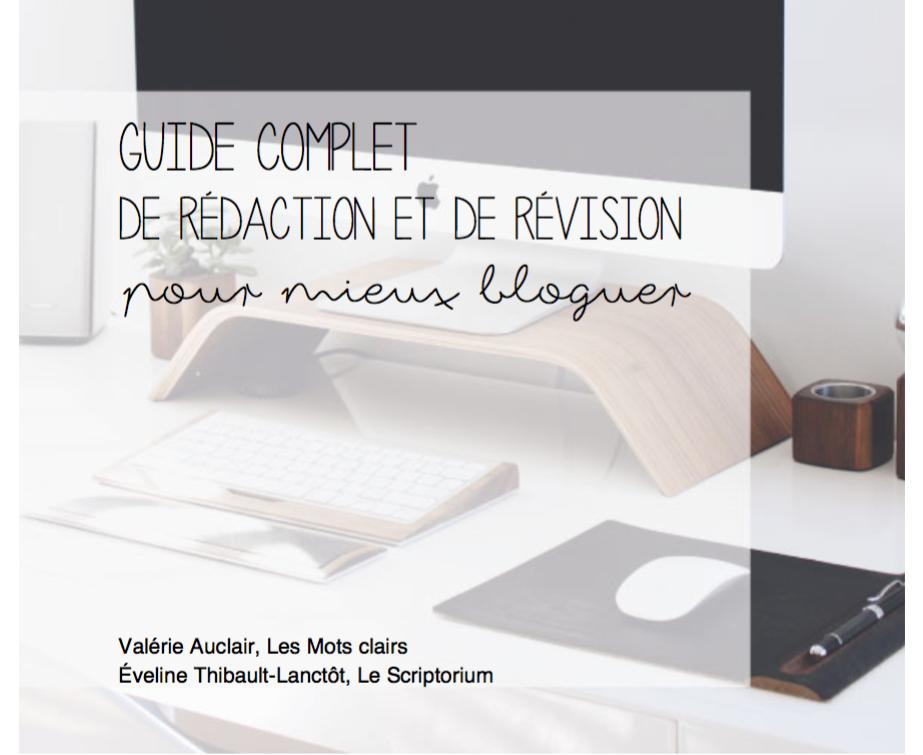 Guide complet de rédaction et de révision